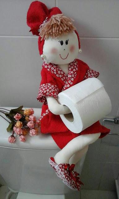 Кукла-держатель туалетной бумаги. Мастер-класс от автора идеи.