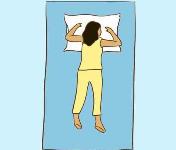 Я понятия не имела, что сон на животе может снизить давление!