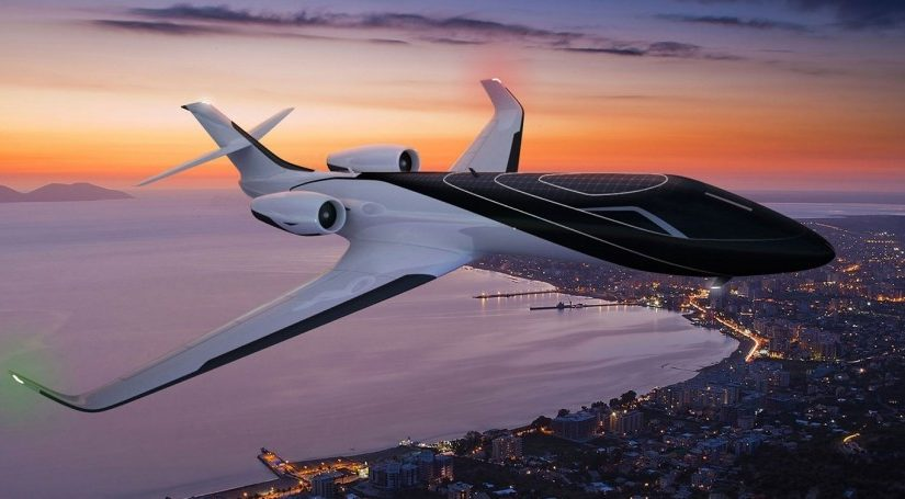 Самолеты нового поколения: без окон и будто бы паришь в облаках