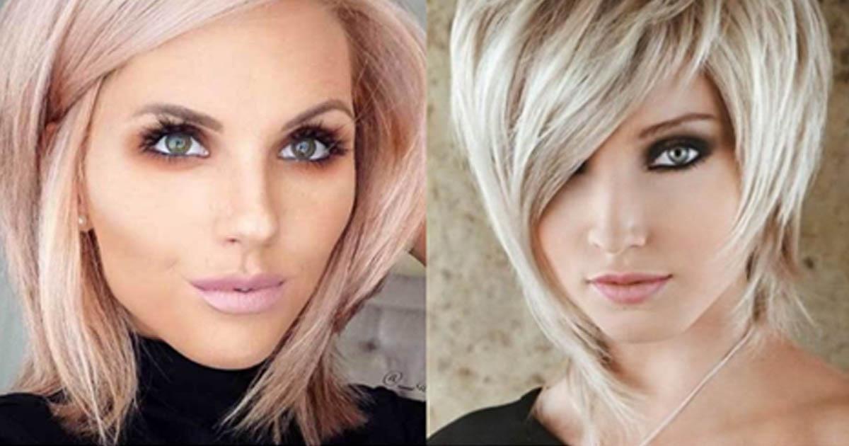 Стрижки для тонких волос: Сорок интересных вариантов