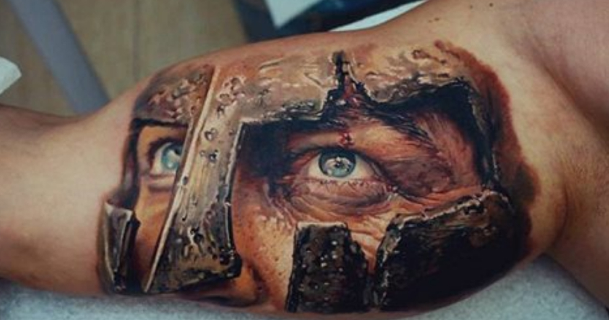 38 сумасшедших 3D татуировок (38 фото)