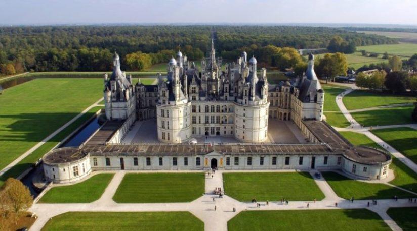 Самые великолепные Замки и дворцы Франции.