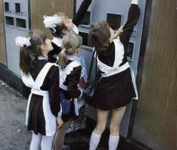 Минута ностальгии: автомат с газированной водой