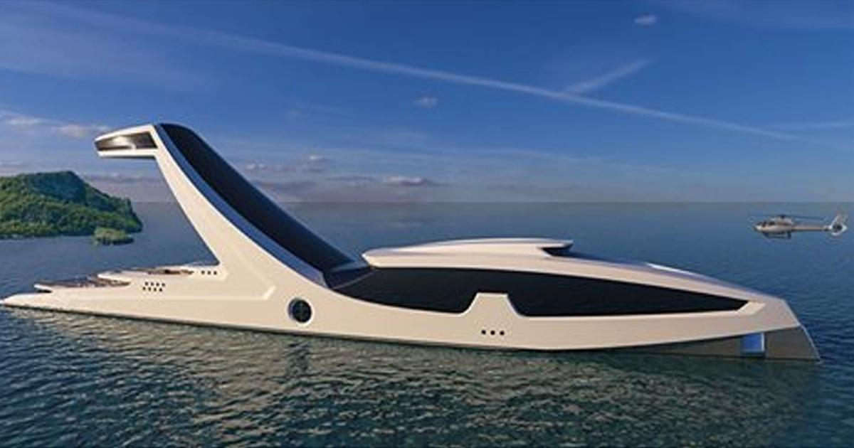 Яхта за 250 миллионов долларов