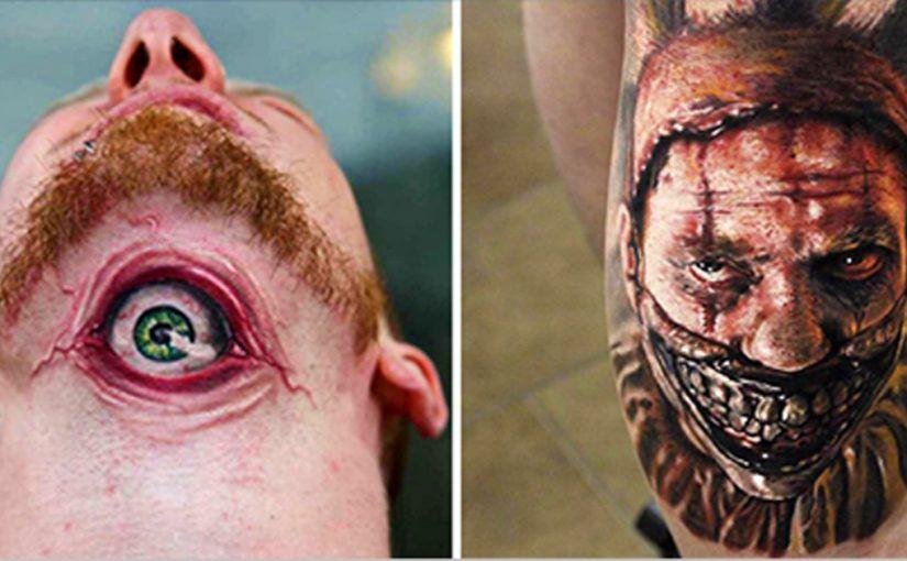 15 жутких татуировок, которые не захочется повторить