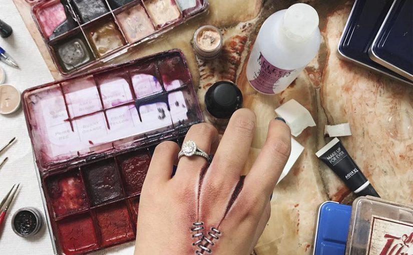 27 образцов такого макияжа, который испугает любого маньяка