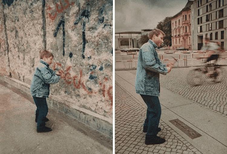 25 семейных фото, которые повторили много лет спустя
