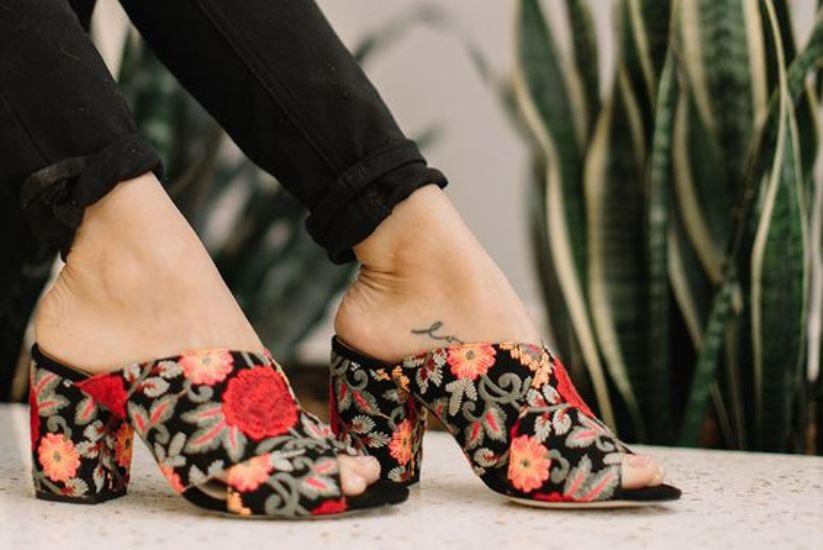 Модные туфли мюли – самый модный хит лета 2018