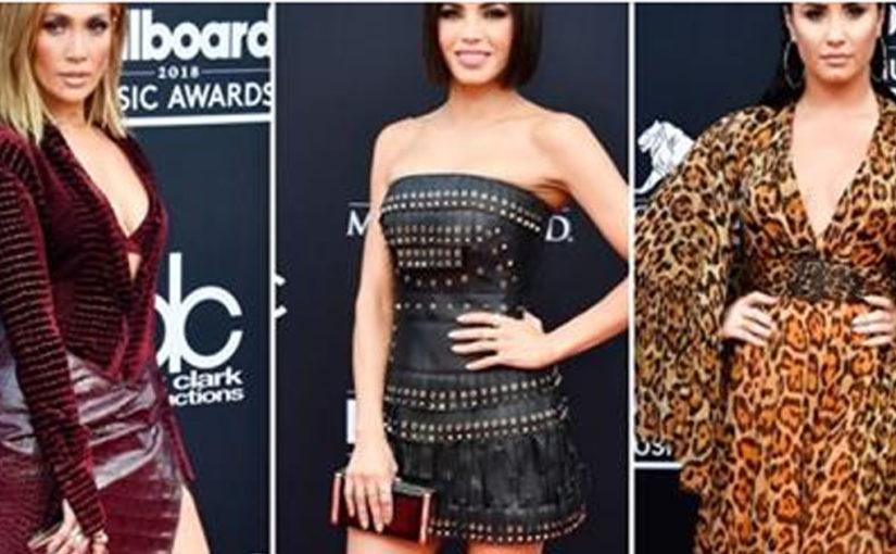 Дженна Девон, Кристина Агилера, Джениффер Лопес и другие на красной дорожке Billboard Music Awards