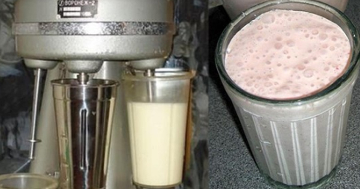 Вкуснятина из нашего далёкого детства: тайна приготовления молочного коктейля по-советски…