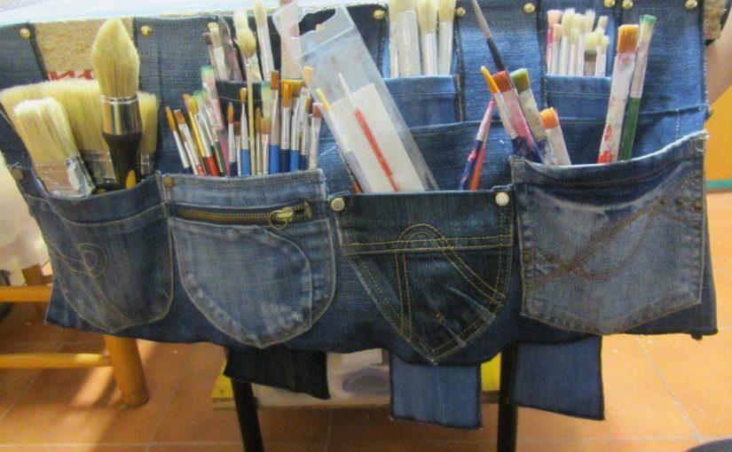 40+ новых идей переделки старых джинсов
