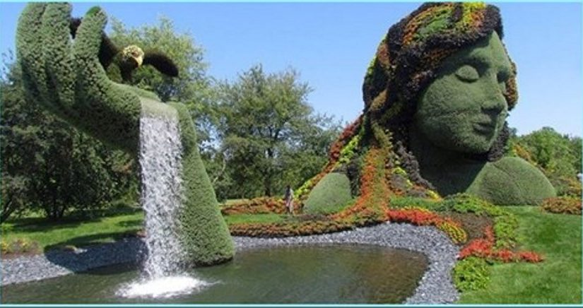 Фантастический ботанический сад в Монреале
