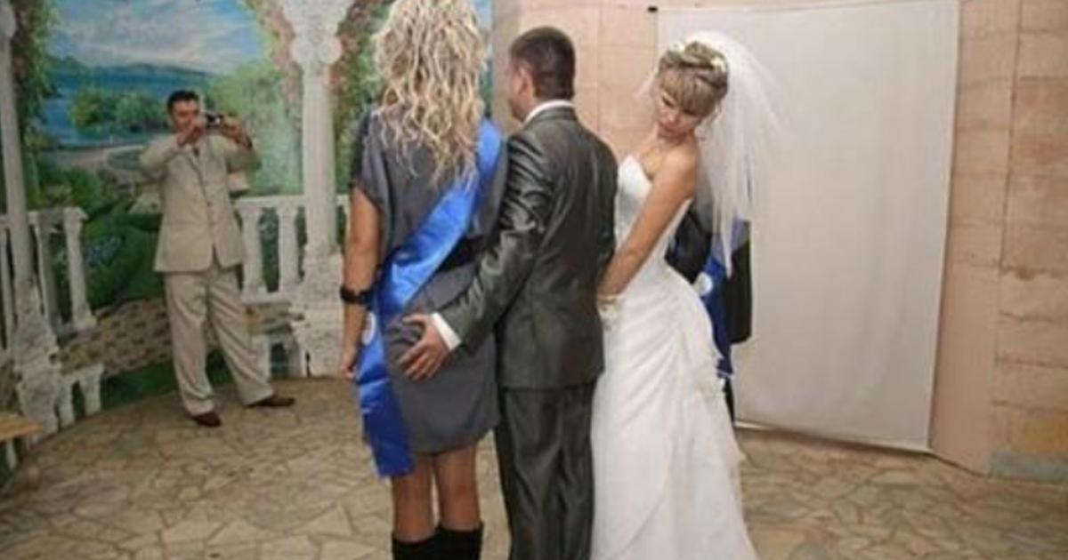 Уникальные фотографии со свадьбы (30 фото)