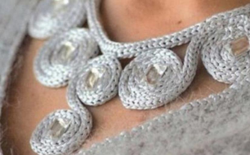 Вязание идеи шарфы украшения…