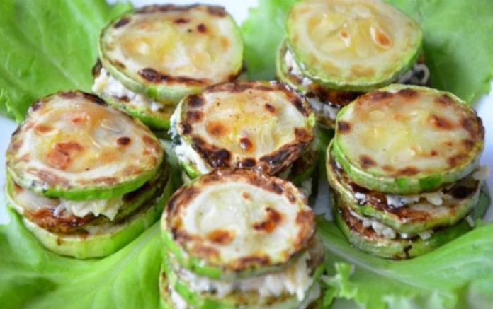 Вкуснейшие жаренные кабачки с чесночком и плавленным сырком