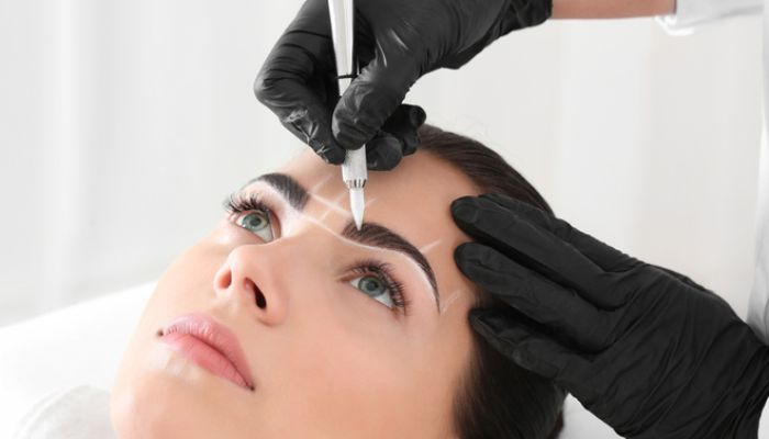 Красивые брови-своими руками! Как красить брови хной: пошаговая инструкция