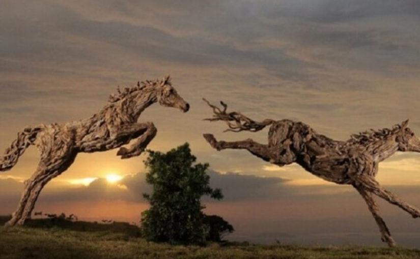 23 потрясающих и реалистичных скульптур из дерева. Само совершенство!
