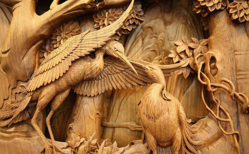 Китайское искусство резьбы по дереву