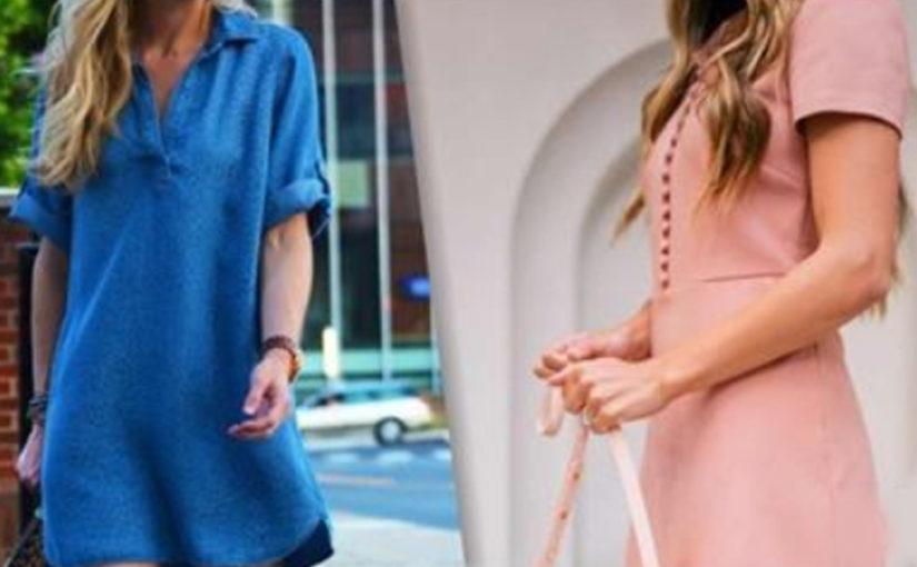 Сама женственность: 24 модных платья свободного кроя для любой фигуры