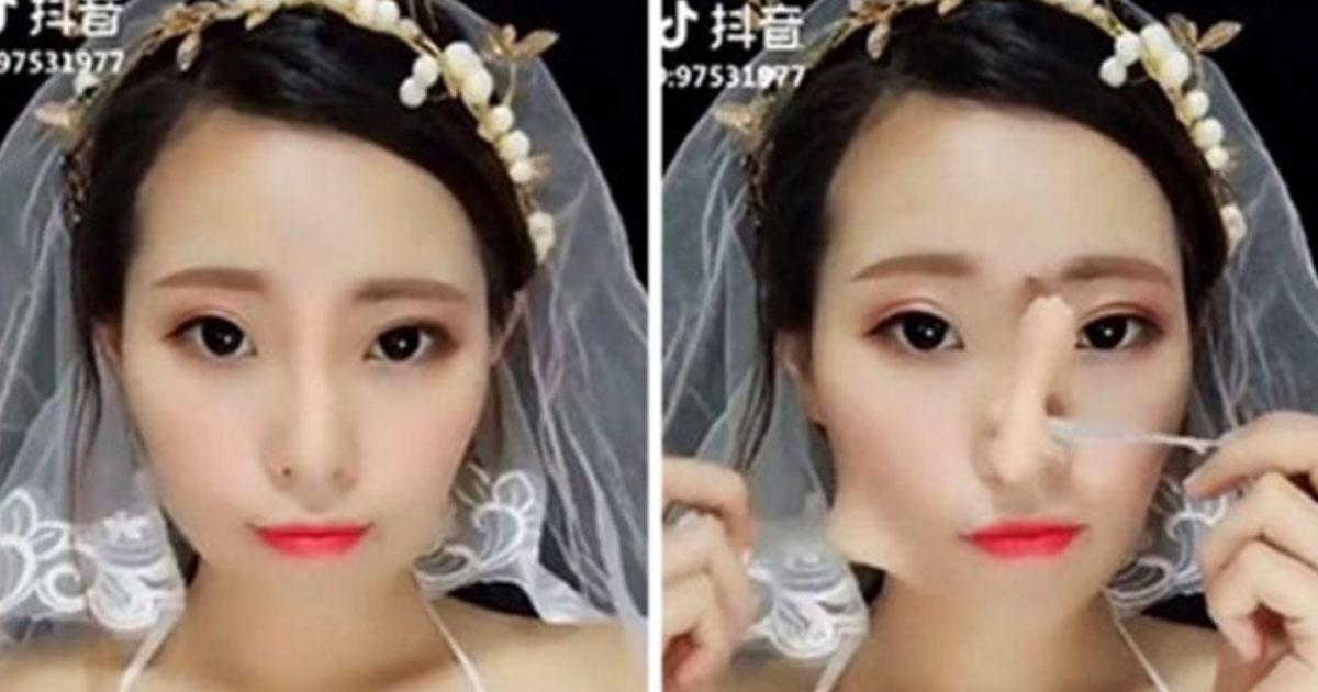 Жизнь не готовила нас к тому, как эти 20 азиатских девушек снимают мэйк-ап