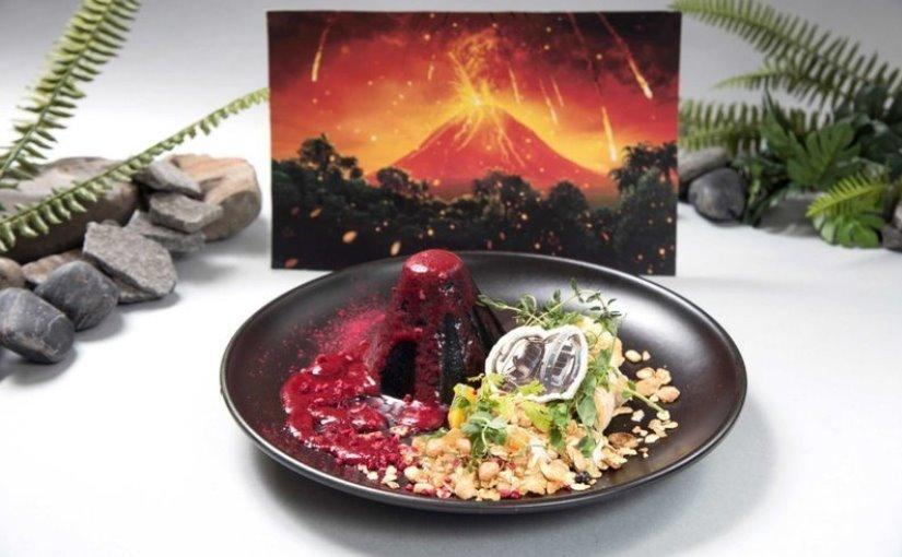 «Ископаемые» блюда прямиком к премьере «Мира Юрского периода 2» в Японии