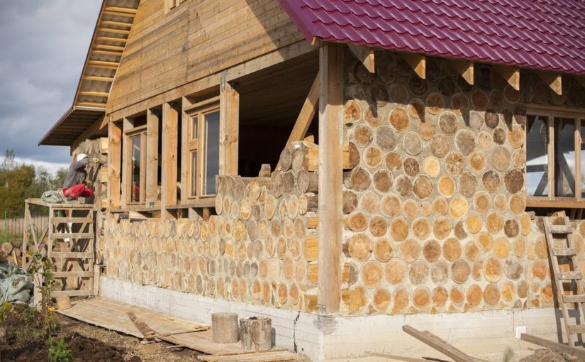 Дом из обычных дров