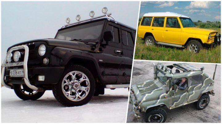 20 примеров отличного тюнинга УАЗ