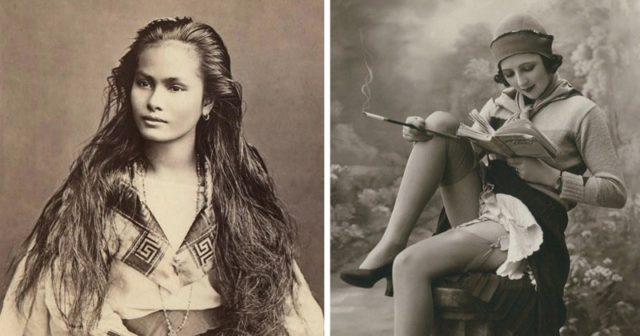 Великолепные женщины прошлого века: 21 фото из 1900 года