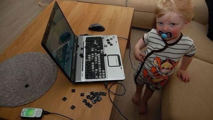 Дети умеют наводить «порядок» (12 фото)