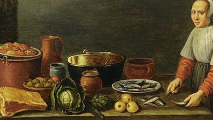 Факты о том, что ели и пили в средние века.