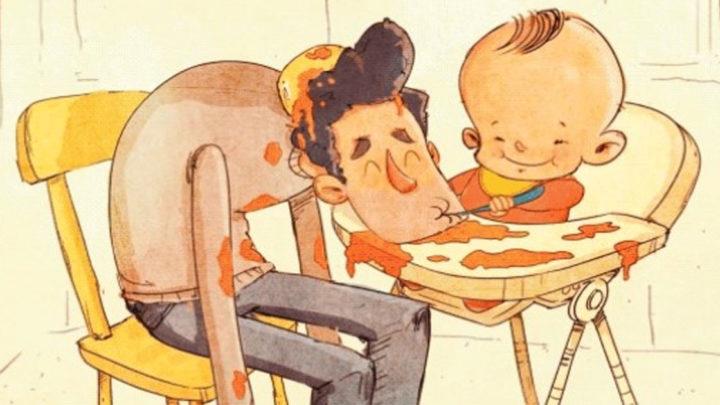 Ожидание и Реальность весёлых будней молодых родителей в картинках
