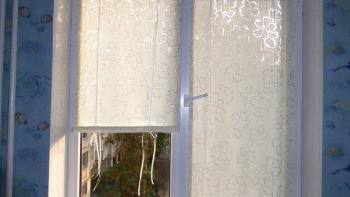 DIY: оконные шторки на липучках своими руками
