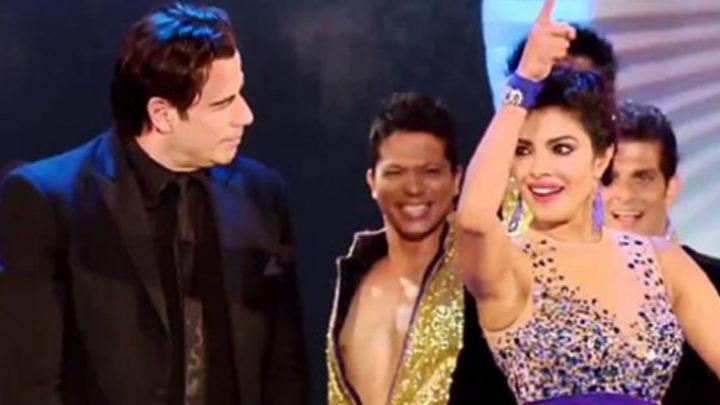Траволта танцует индийский танец с Приянкой Чопра.( Видео)
