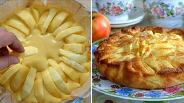 Для любителей выпечки с яблоками: Итальянский деревенский пирог