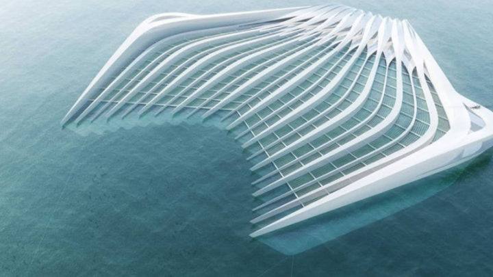 Женщина разработала машину, которая может избавить море от пластика