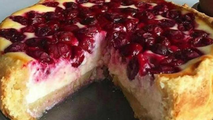 Бесподобный ягодный пирог