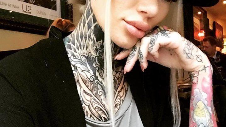 Тату-зависимость: красивые девушки, одержимые татуировками 😉