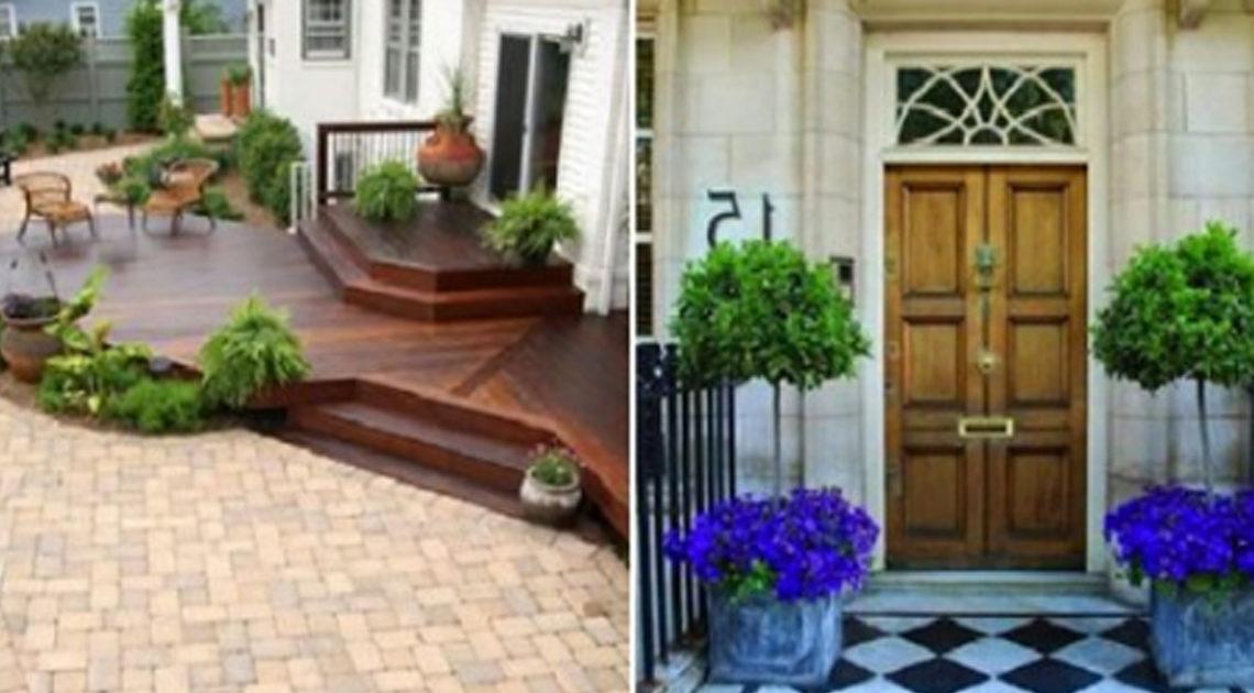 Крыльцо для частного дома: 15 идей дизайна и декора. Дом начинается с этого