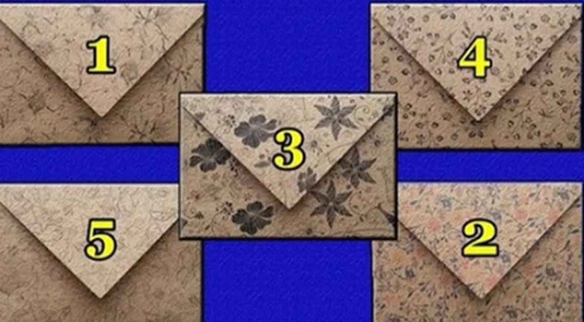 Вам письмо: выберите конверт и узнайте свое послание