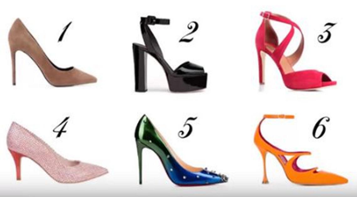 Выберите туфлю и узнайте про себя кое-что интересненькое