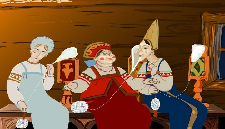 Сказка о царе Салтане на современный лад