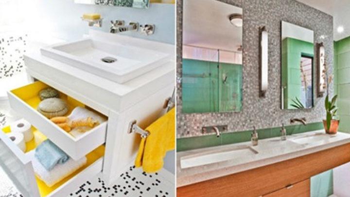 23 рациональные идеи, как и куда в ванной спрятать банные принадлежности