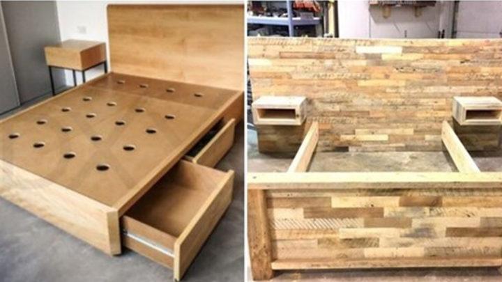 20 крутых идей деревянных каркасов своими руками