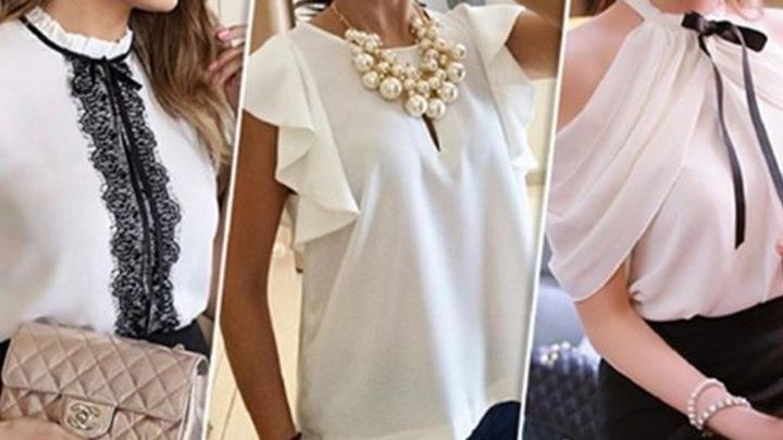 Актуальный тренд: 18 белых блузок